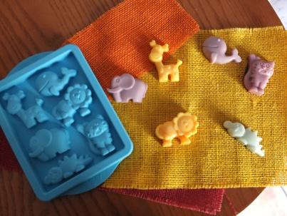 Ecco i nostri animaletti colorati e profumati