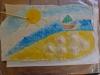 Disegnato e Colorato il Paesaggio del Mare sul Das