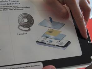 Il livello n. 2 della piattaforma idoneo per ritagliare il cartoncino a forma di cerchio